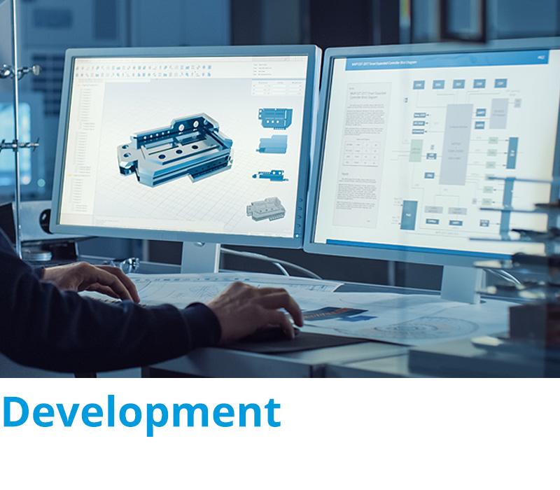 Development - Stuttgart, Karlsruhe, Heilbronn, Pforzheim, Mühlacker, Enzkreis